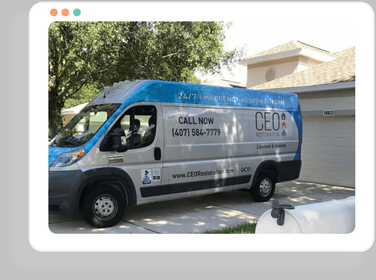water-ceo-restoration-van